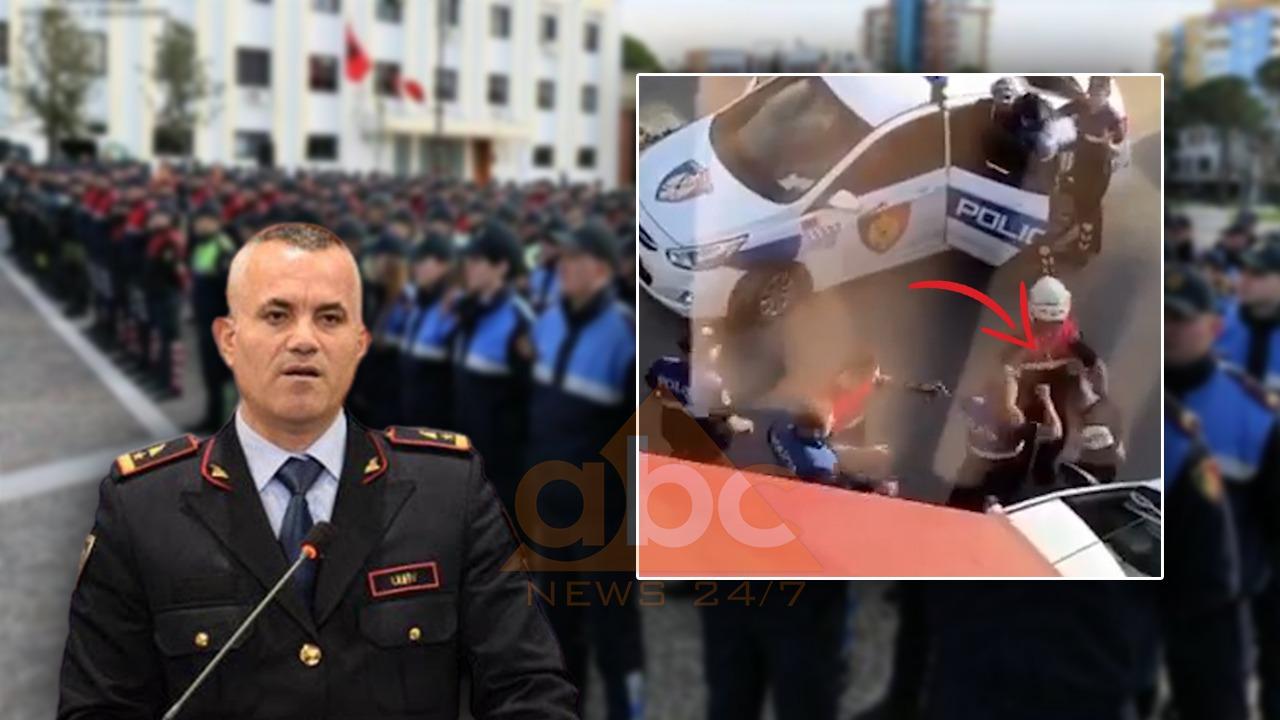 Efektivët dhunuan dy të arrestuarit e prangosur, reagon Policia e Shtetit