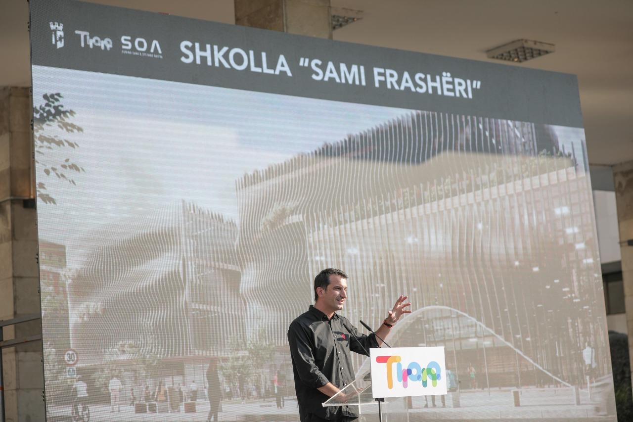 """Projekti i rindërtimit të shkollës """"Sami Frashëri"""", dyfishim i hapësirave e infrastrukturë moderne"""