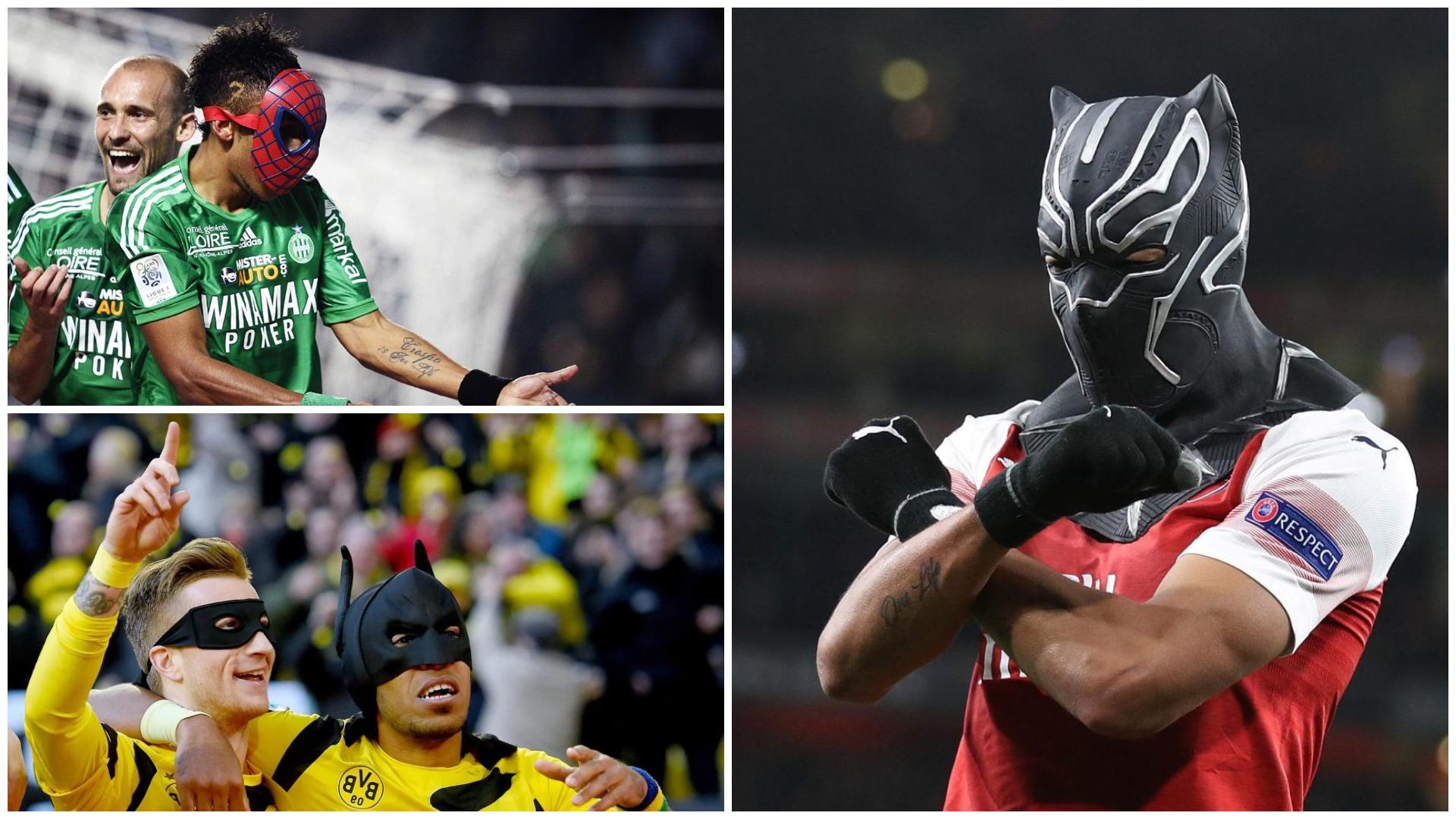 """Gola të panumërt dhe maskat një """"ves"""", ditë e veçantë për Aubameyang"""