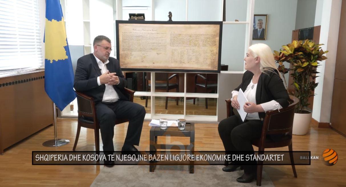 Blerim Kuqi: Shqipëria dhe Kosova të njësojnë bazën ligjore ekonomike dhe standardet