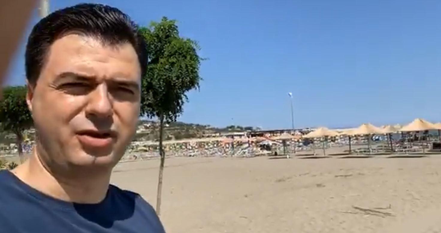 """""""Jemi në pikë të hallit"""", Basha në Shëngjin: Qeveria 1 milion euro pagesa për Klodian Mërtirin"""