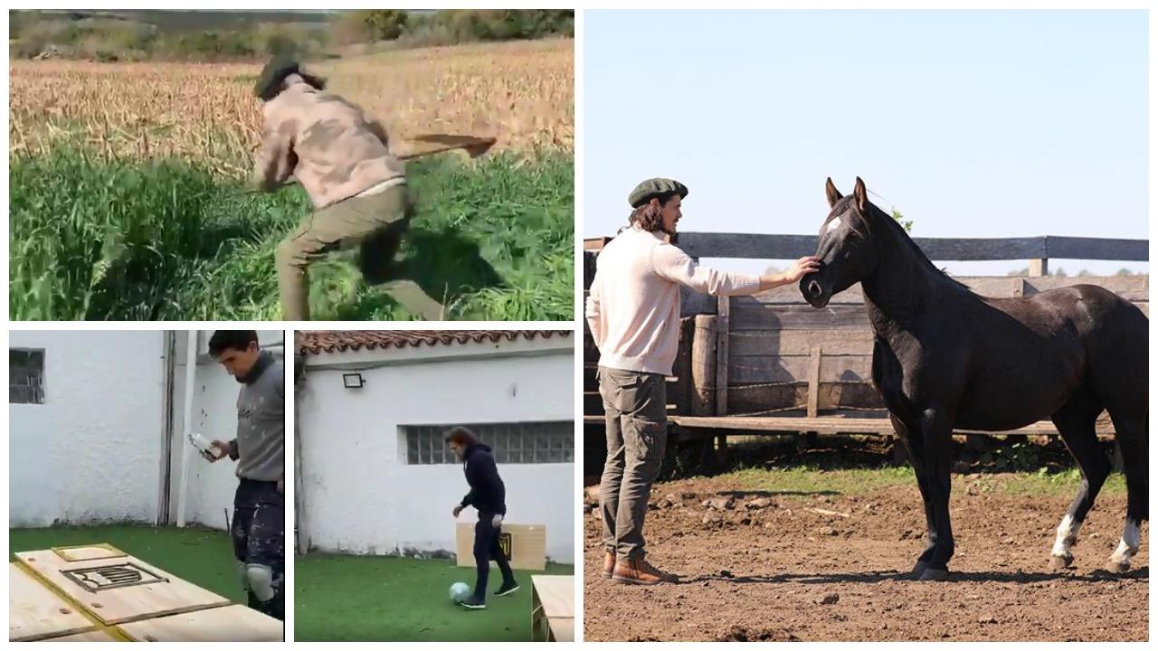 VIDEO/ Cavani si fermer, Forlan si zdrukthëtar: Habitin goleadorët e Uruguait