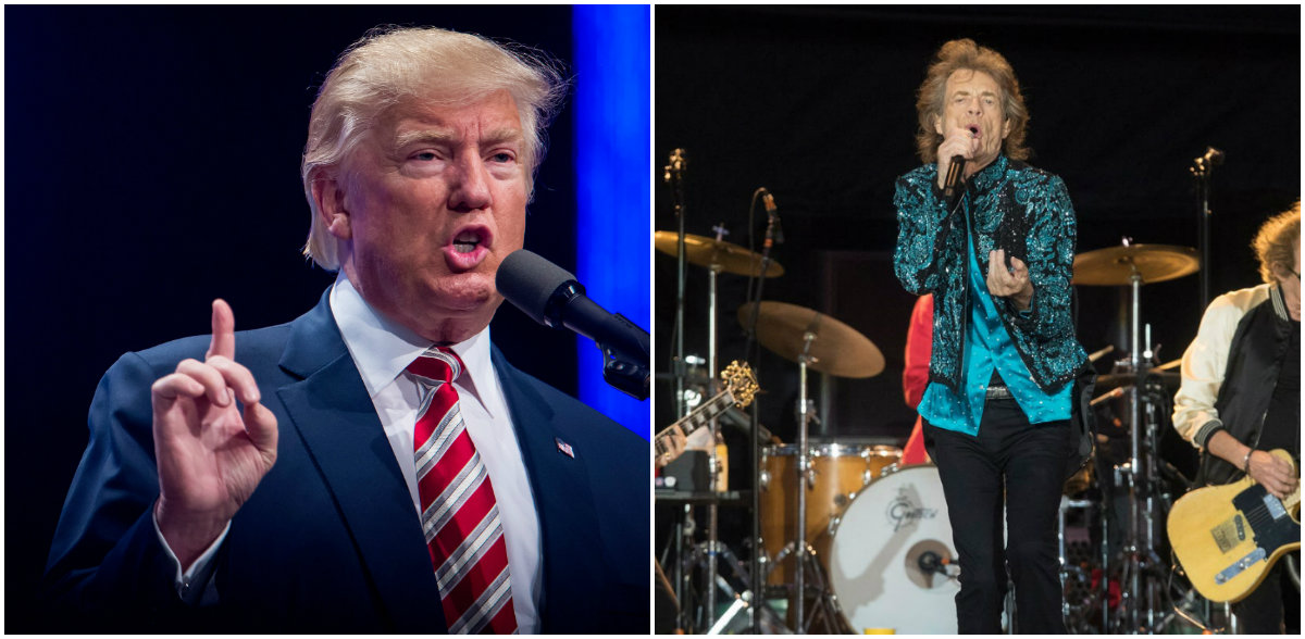 Trump përdor kolonën zanore të Rolling Stones për fushatë, grupi legjendar paralajmëron padi penale
