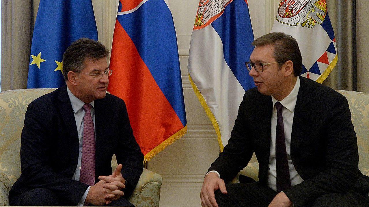 Dialogu Kosovë-Serbi, Lajçak takon sot Vuçiç në Beograd