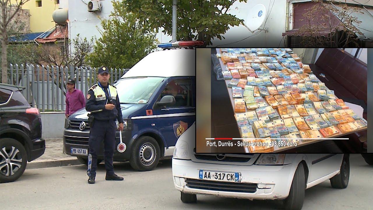 Sekuestrimi i 500 mijë eurove në Durrës, shoferi i arrestuar: Nuk kam dijeni, hapni kamerat e sigurisë