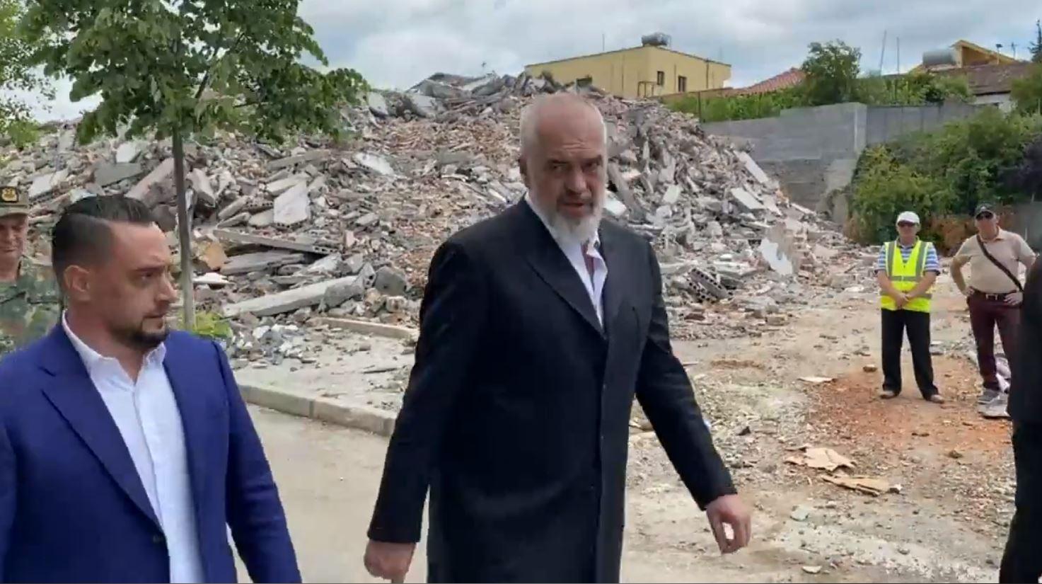 Rindërtimi dhe heqja e inerteve në Shijak, Rama-Xhaçkës: Të bëhet pastrimi në kohë rekord