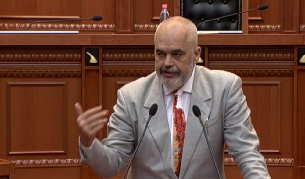 Rama në Kuvend: Shqipëria ka bilanc pozitiv, PS e luftoi krimin si asnjë herë më parë