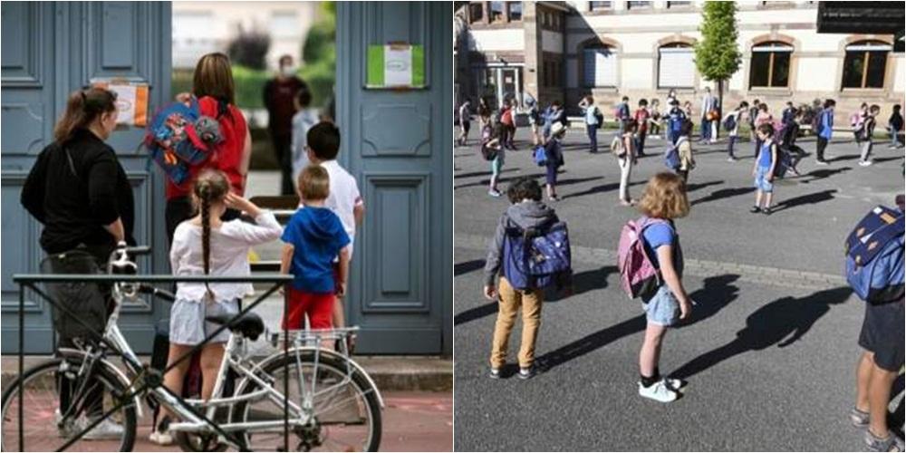 Pas tre muajsh shkëputje, fëmijët në Francë u kthehen bankave të shkollës