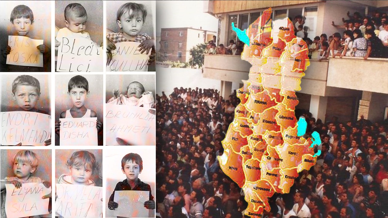 FOTO/  A i njihni? Këta fëmijë ishin aty kur 30 vjet më parë ndryshonte historia në Tiranë