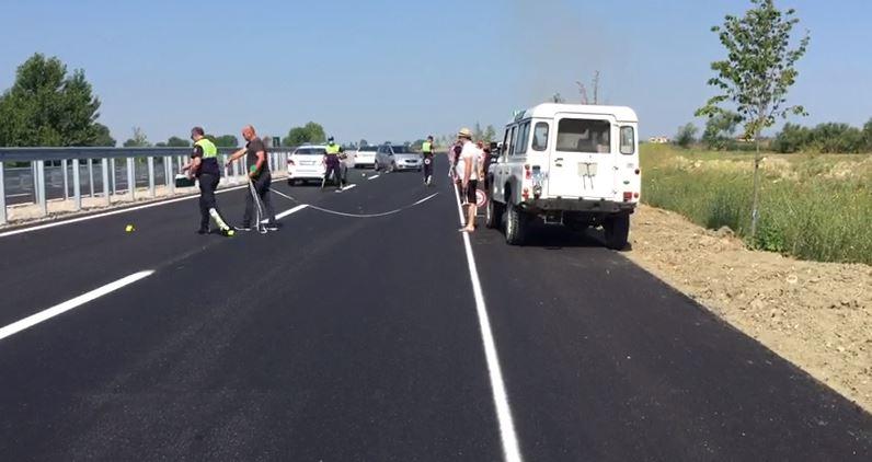 Përplasen dy automjete në Fier, ka të plagosur