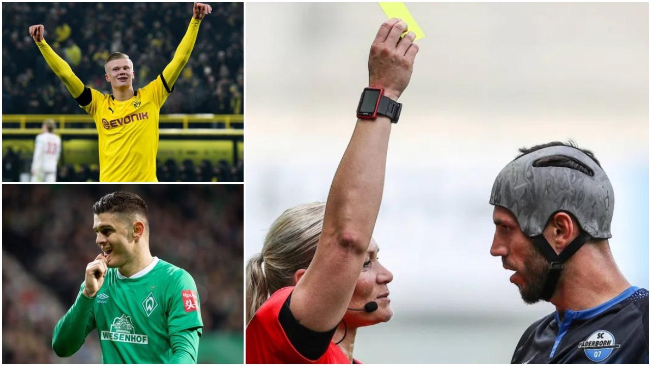 VIDEO/ Java e miqve në Gjermani: Haaland nderon Dortmund, Gjasula në histori