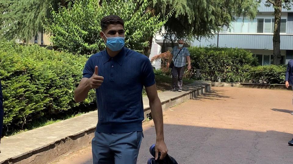 Testi i Hakimi bëhet çështje, Interi mendon të padisë UEFA-n