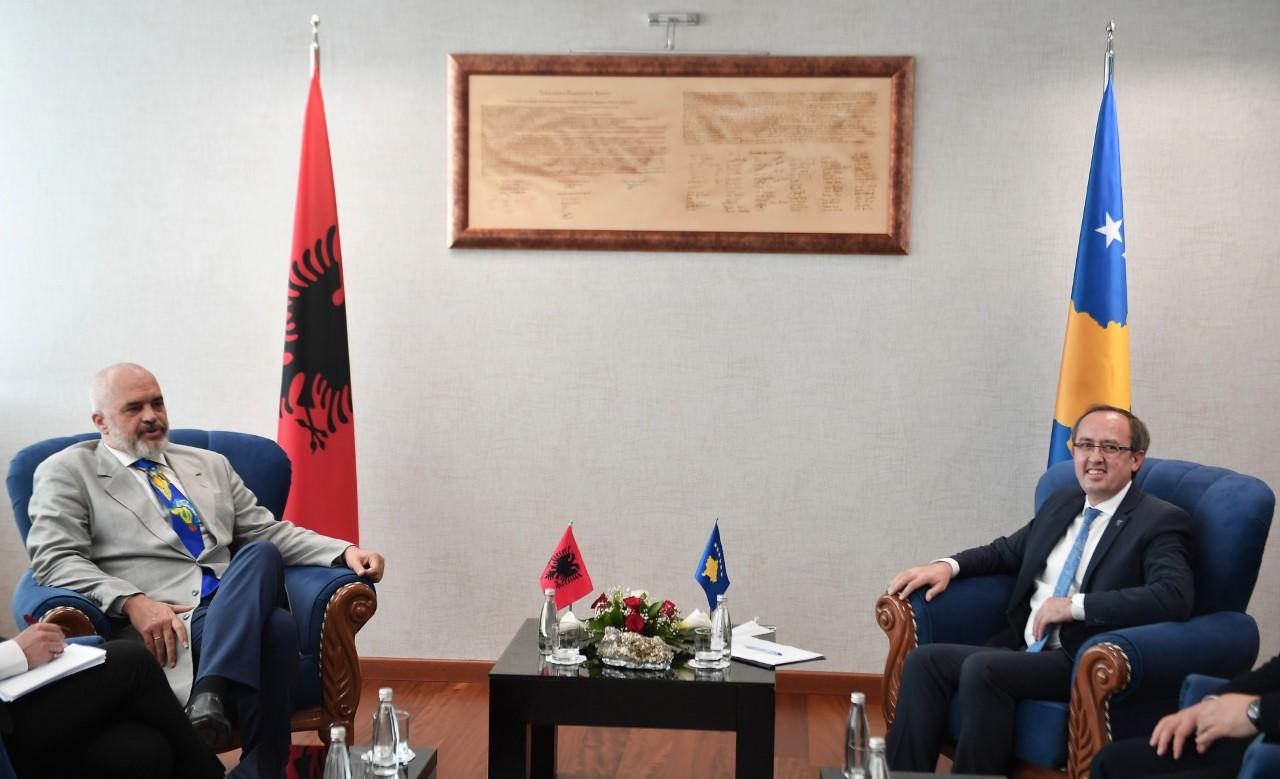 Rama: Shqipëria do t'i qëndrojë gjithmonë pranë Kosovës