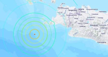 Indonezia goditet nga një tërmet i fuqishëm
