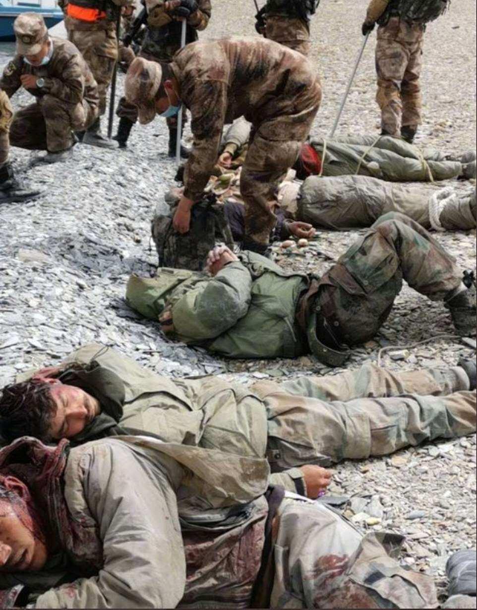 Dhjetra ushtarë të vdekur, nuk u shkrep asnjë armë: Pamjet e përplasjes së çuditshme Kinë-Indi