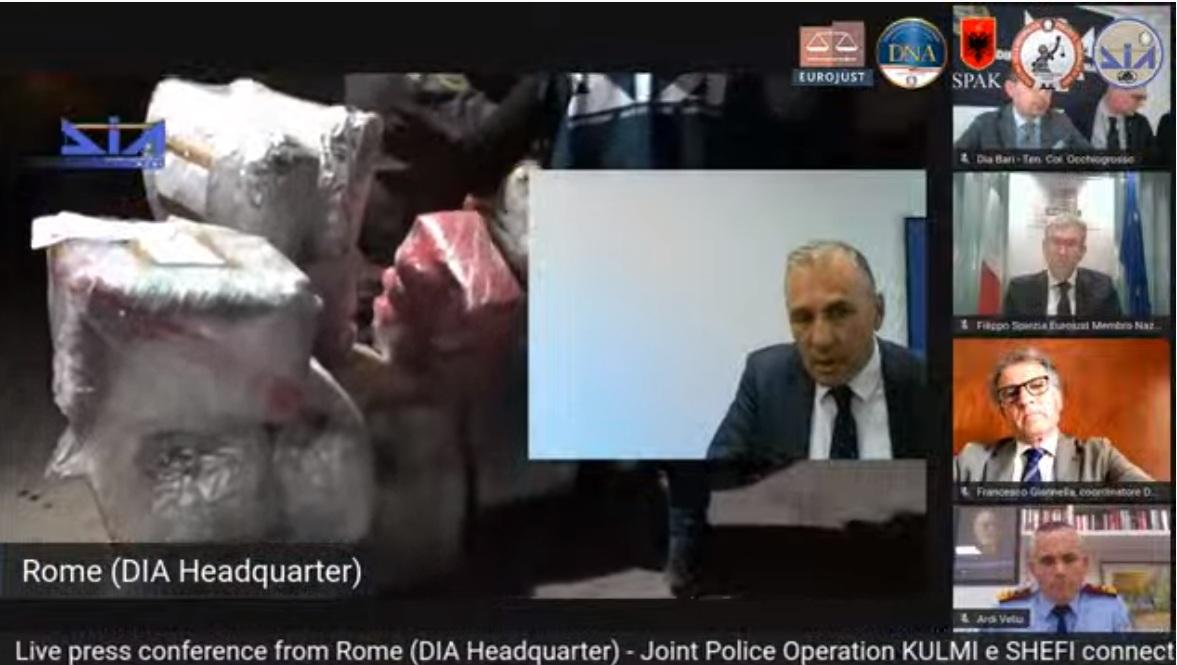 """""""Kemi bashkëpunëtorë të drejtësisë nga Shqipëria"""": Shefi i anti-mafias italiane zbulon detajet e operacionit me 37 të arrestuar"""