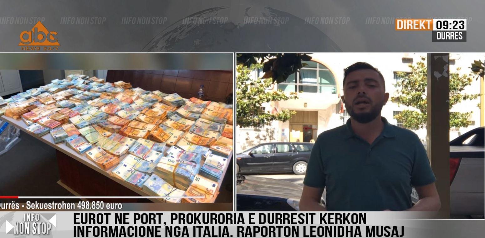 Prokuroria nis letër-porosi në Itali, çfarë kërkon për 500 mijë eurot e kapura në Durrës