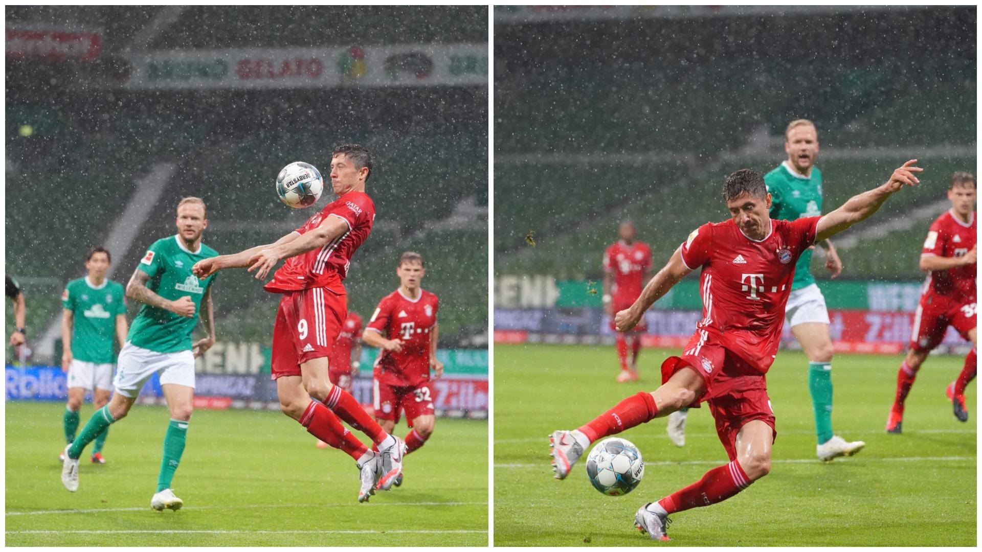 """VIDEO/ Robert Lewandowski """"show"""", gol titulli në Bremen"""
