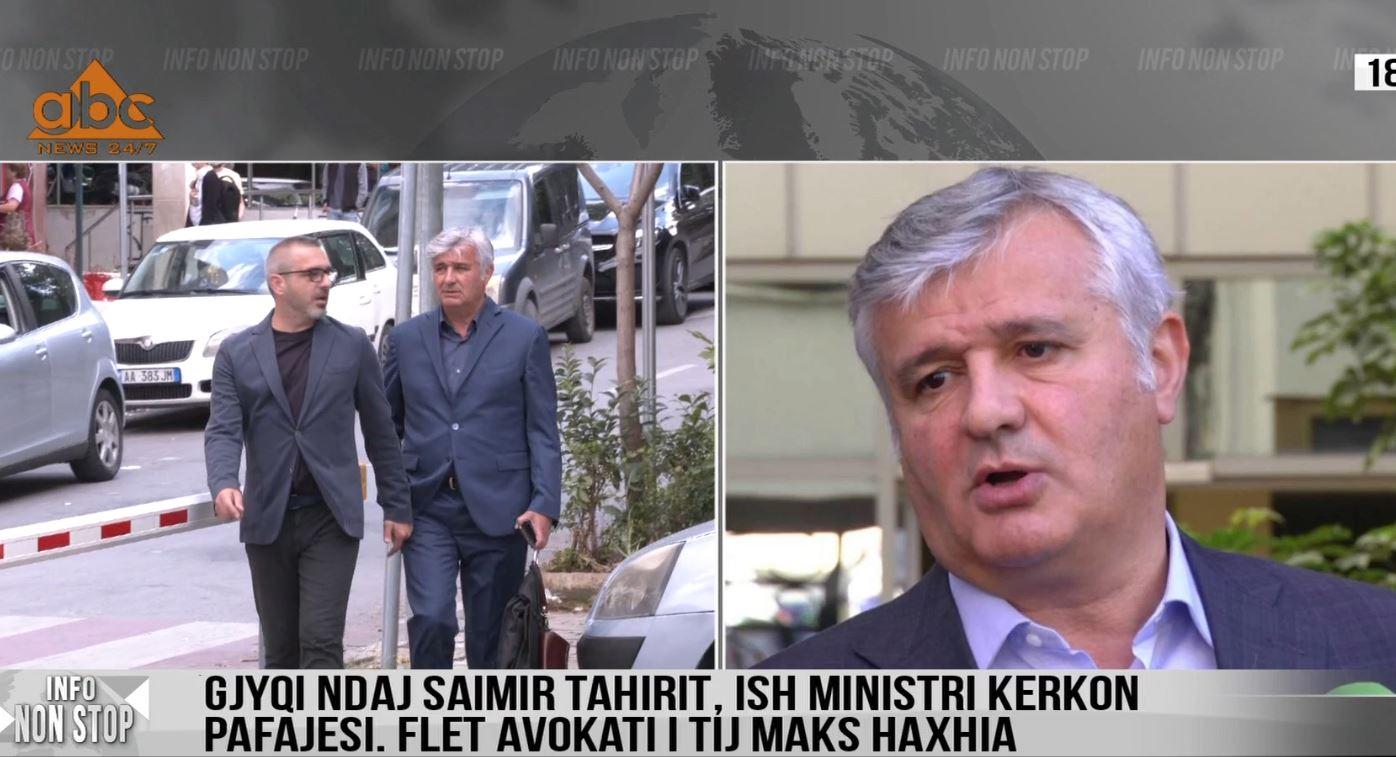 Gjyqi ndaj Saimir Tahirit, flet avokati Haxhia: Sajesë për ta larguar nga skena politike