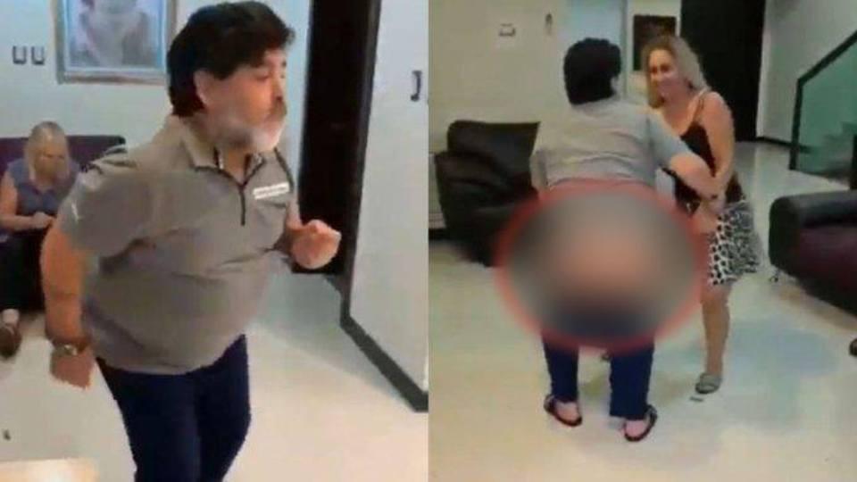 VIDEO/ Maradona lë nam, vallëzon dhe u tregon të pasmet të gjithëve
