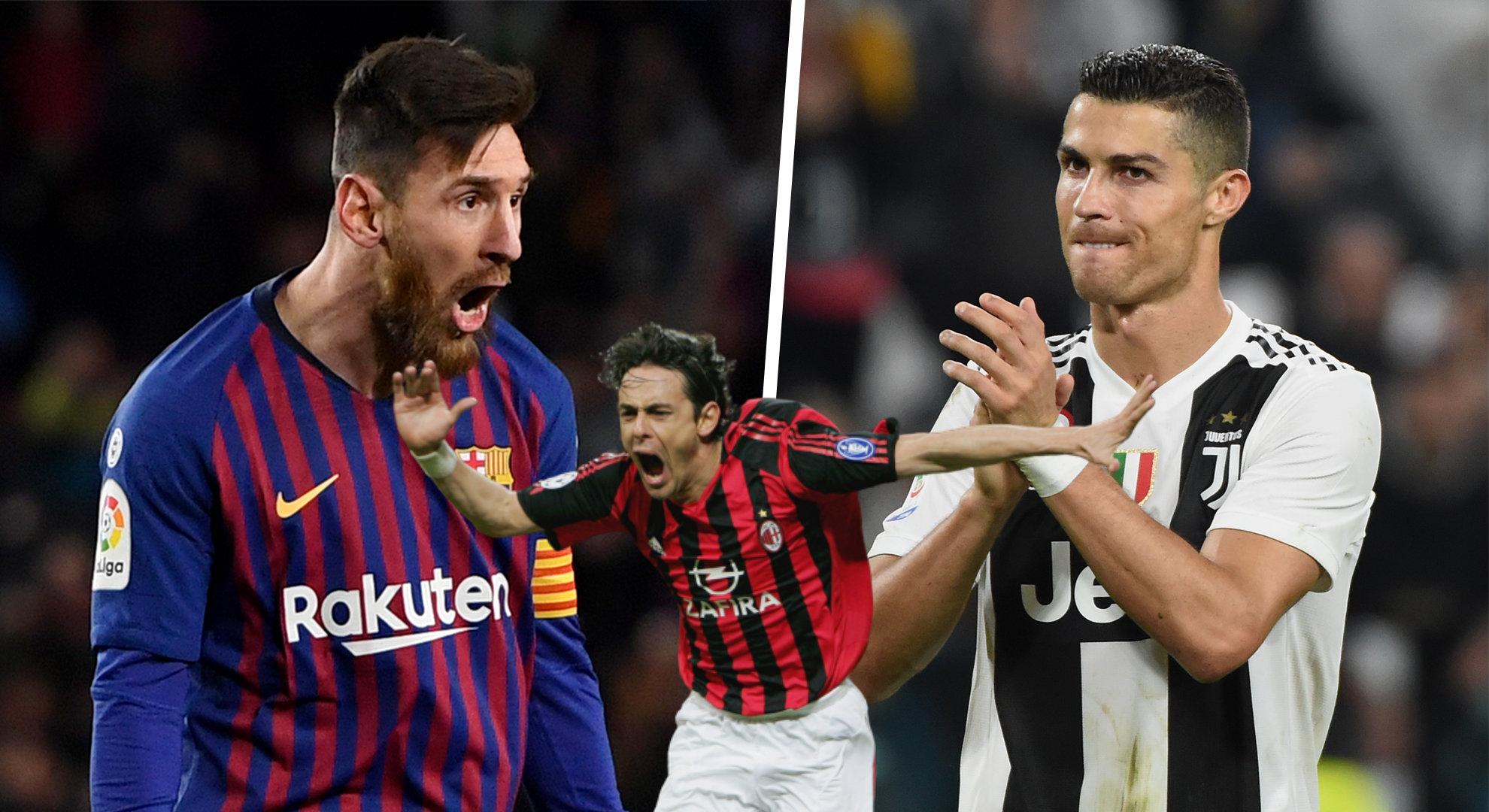 Pippo Inzaghi i sinqertë: Messi e Ronaldo më tërbojnë keq
