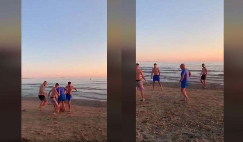 """VIDEO/ """"Është mirë kur shënon vetë"""", Meta futboll tek """"Gjiri i Lalzit"""": Faleminderit çunave!"""