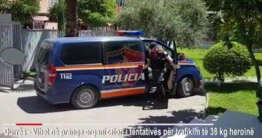 Sekuestrohen 38 kilogram heroinë në Portin e Durrësit, arrestohet pas dy javësh organizatori