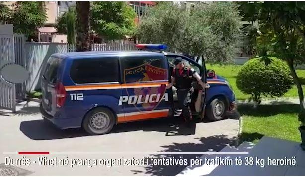 EMRI/ Sekuestrohen 38 kg heroinë në Portin e Durrësit, arrestohet pas dy javësh organizatori