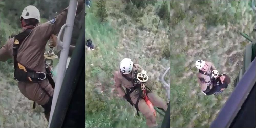 U bllokuan në Jezercë, angazhohet helikopteri i Forcës Ajrore për të shpëtuar 6 kosovarët