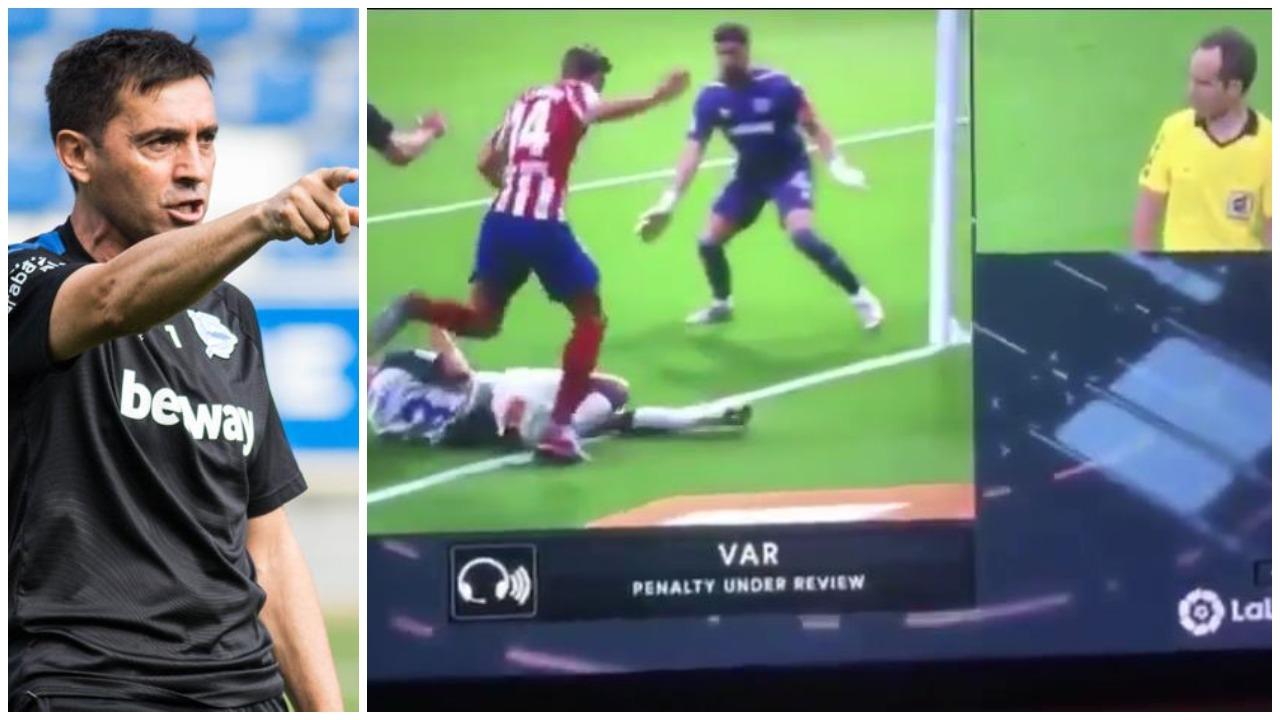 """VIDEO/ """"S'ia vlen ta komentoj"""", penalltia më absurde akordohet në La Liga"""