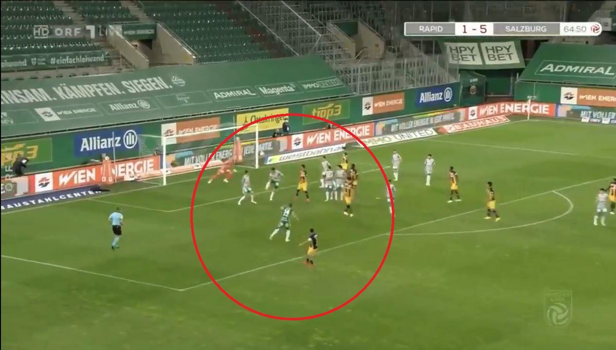 VIDEO/ Goli perfekt shënohet në Austri, befason kapiteni i Salzburg!