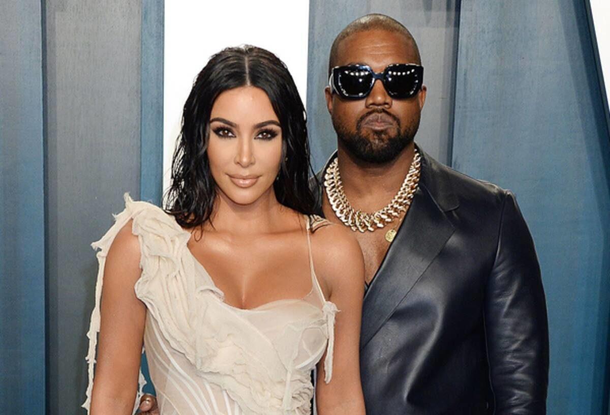 Të martuar prej vitesh por rivalë në biznes, West sfidon Kim me linjën e re të kozmetikës