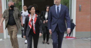 Përfundon takimi i ambasadorëve të SHBA, BE dhe Britanisë me Bashën