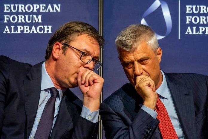 """Një marrëveshje me detyrim: """"Paja"""" e Thaçit dhe Hotit në """"Shtëpinë e Bardhë"""""""