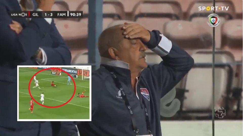 VIDEO/ Autogol i çuditshëm në Portugali, trajneri vë duart në kokë
