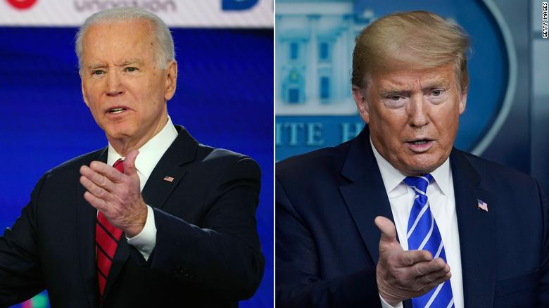 Zgjedhjet presidenciale: Trump i shqetësuar, Joe Biden është në avantazh me 14 pikë