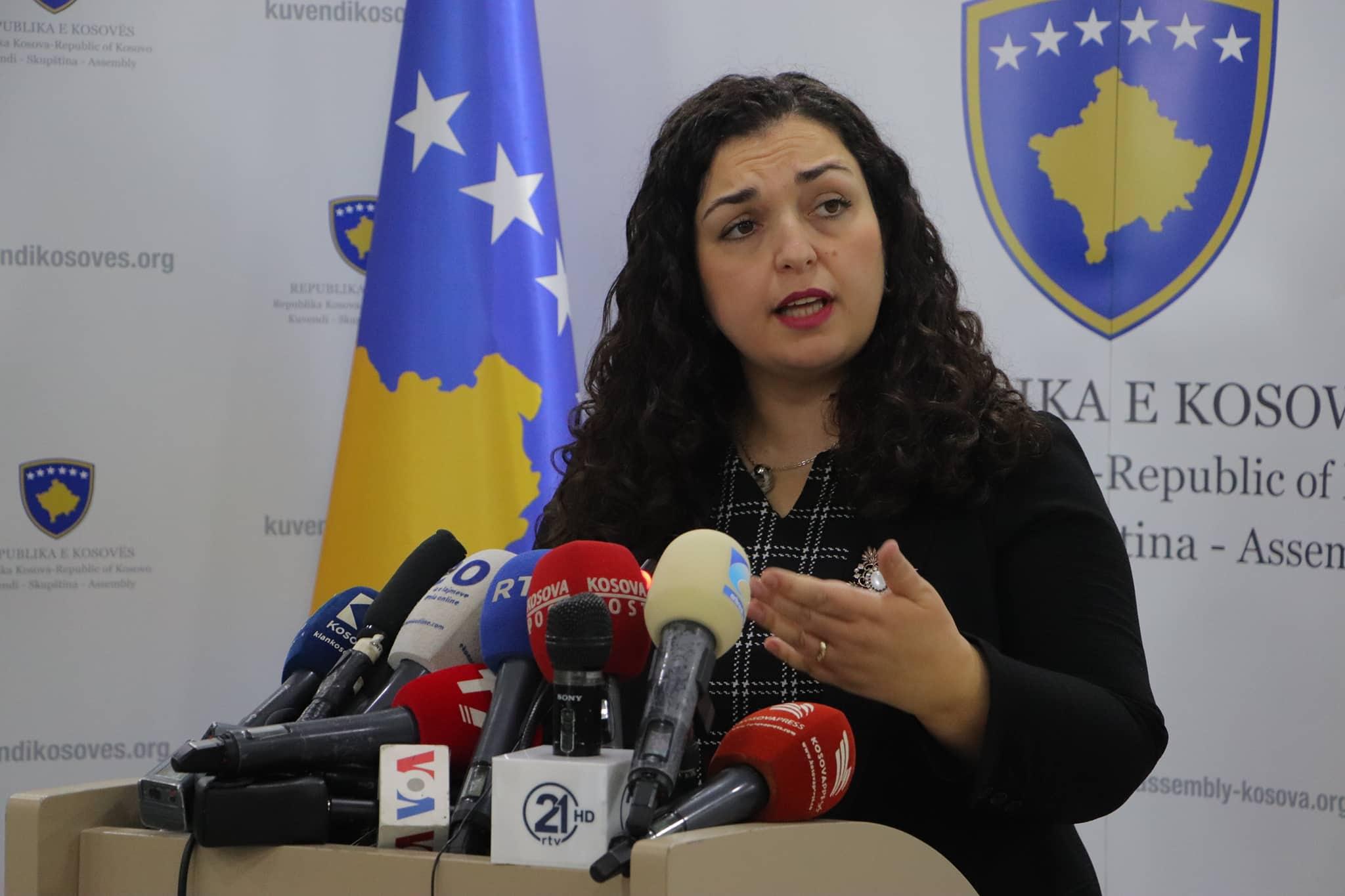 Pas takimit me Lajçakun, Osmani: Nuk negociohet territori i Kosovës