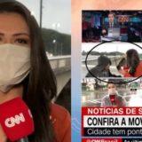 VIDEO/ Gazetares i ndodh e papritura teksa po raportonte 'live', dikush i afrohet me thikë dhe e grabit