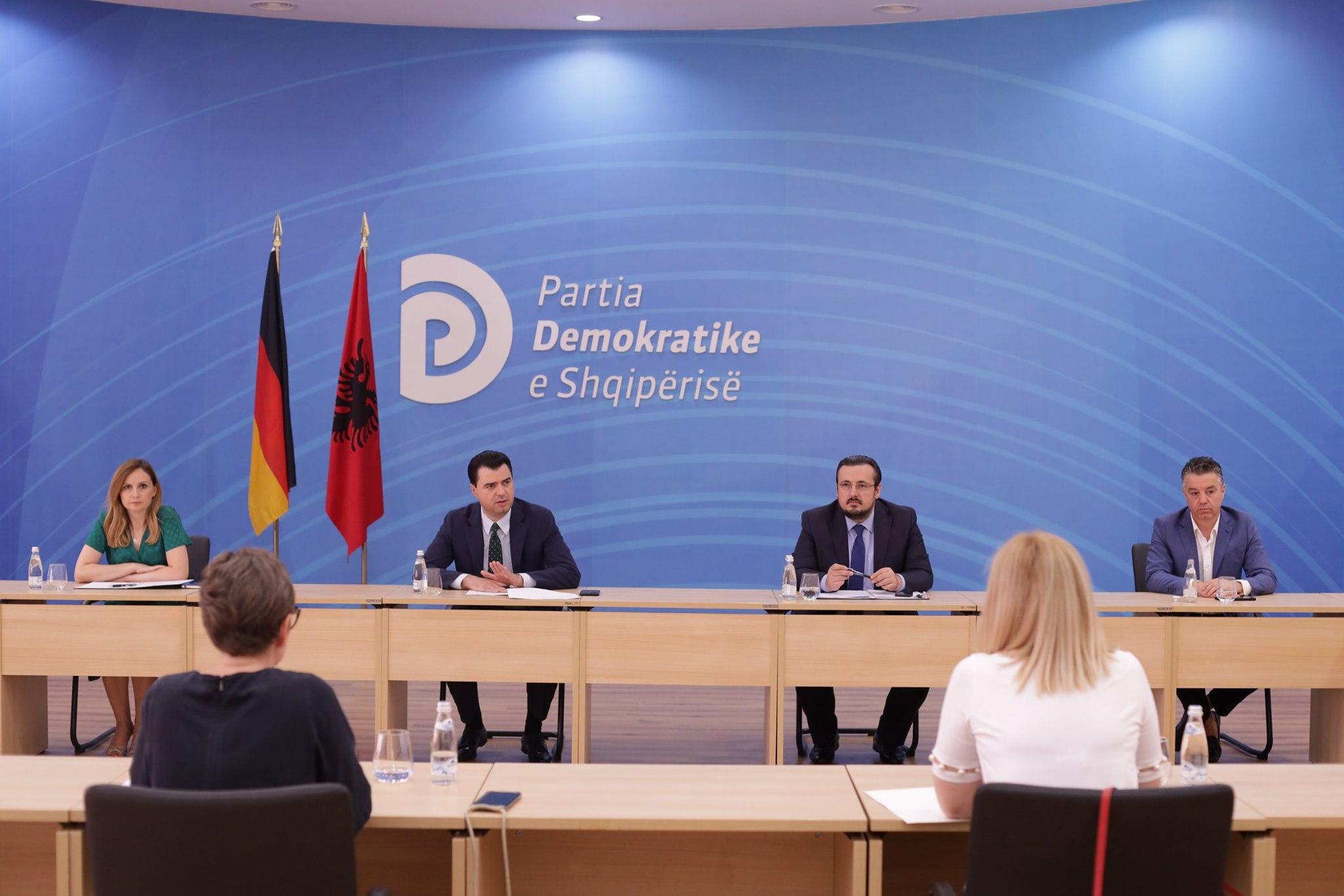 Basha me përfaqësuesit e Dhomës Gjermane të Tregtisë: Shqipëria ka potenciale tërheqëse për investitorët