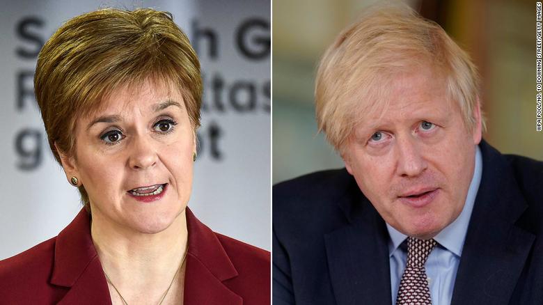 Rrugët e ndara të Britanisë  dhe Skocisë kundër Covid 19, mund të shkaktojnë divorcin përfundimtar