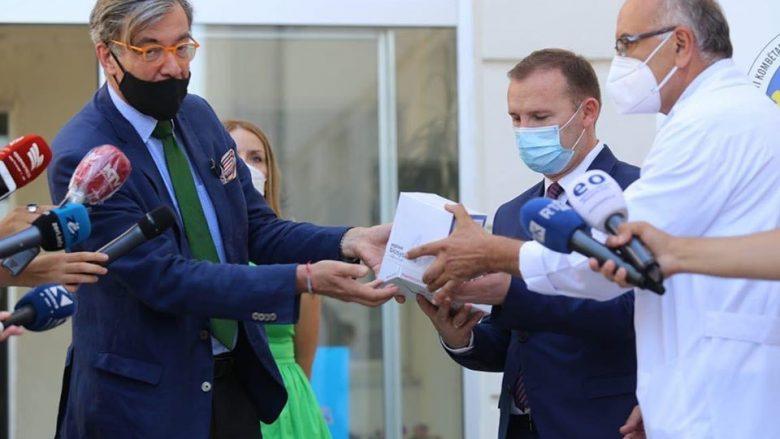 Numri i lartë i rasteve të reja me Covid, Gjermania dhuron 6000 teste në Kosovë