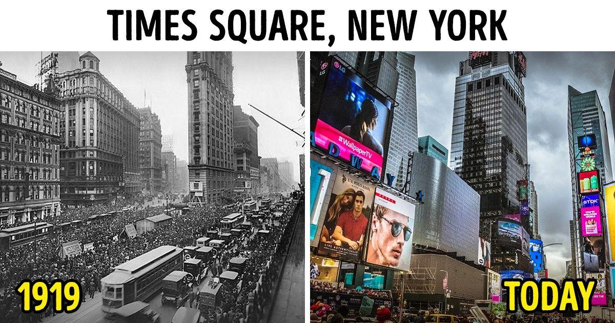 FOTO/Bota në 100 vitet e fundit, shikoni ndryshimet që ka pësuar