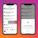 Ndryshim në Instagram komentet mund të bëhen pin si dhe një buton i dedikuar blerjeve