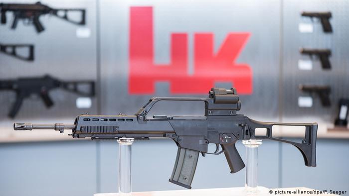 Gjermania shkel ligjet për eksportin e armëve