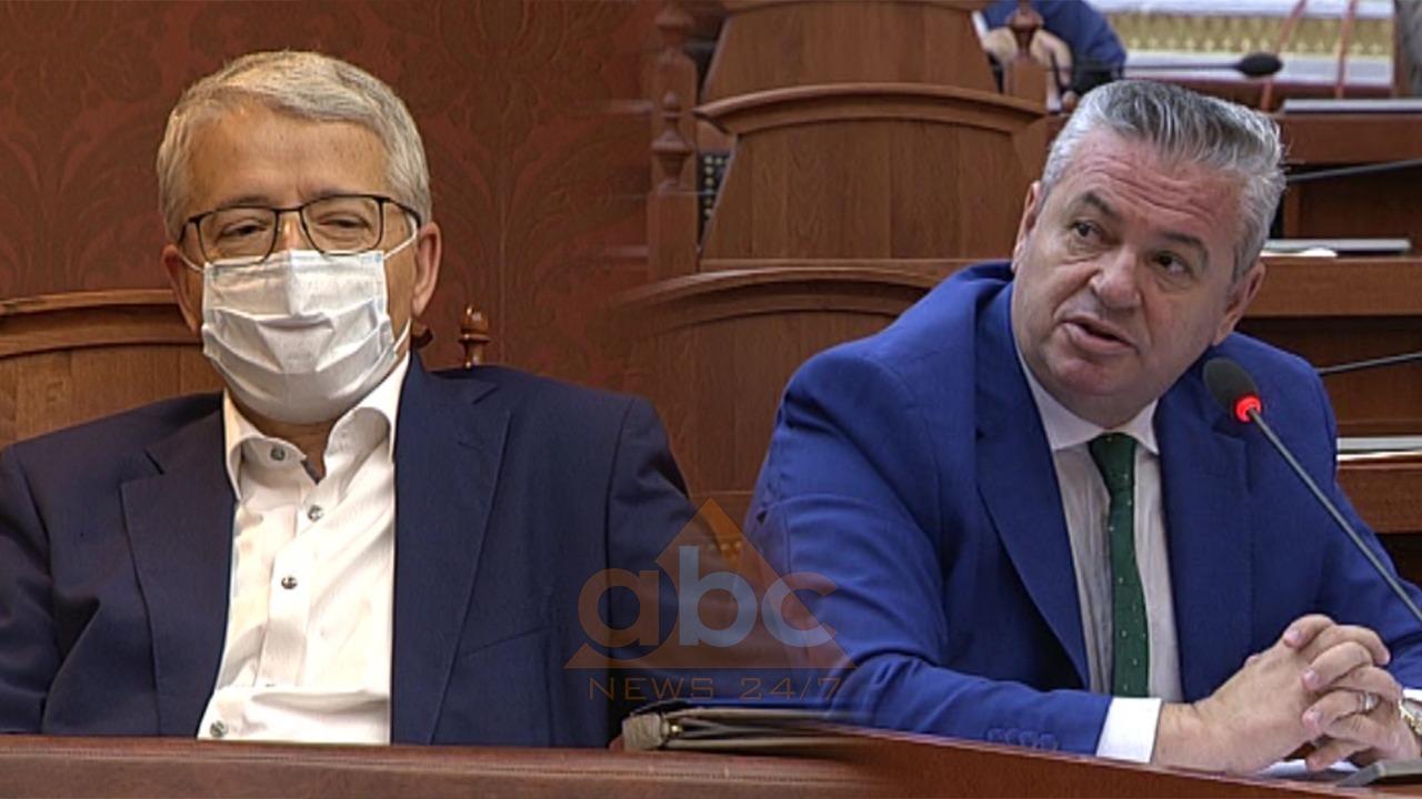 Debati Murrizi-Lleshaj për tenderët në ministri: Mos mi ngre supet, kush ta kafshuar gjuhën?!