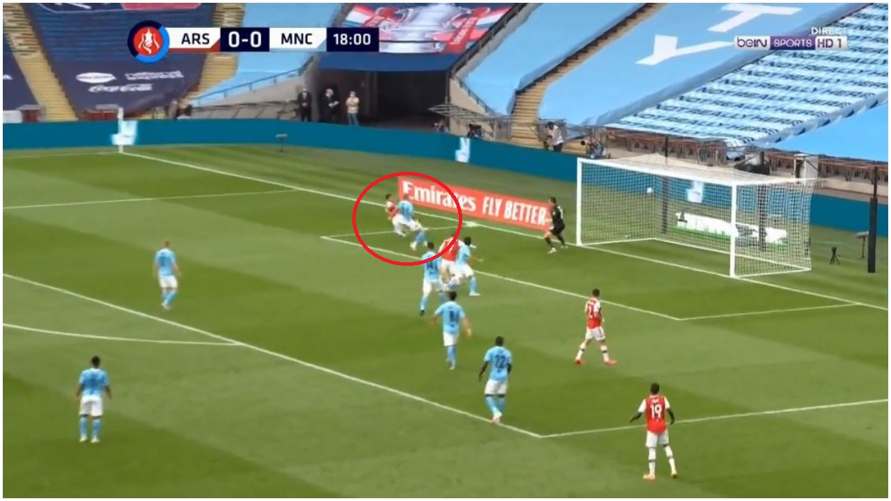 VIDEO/ Gjysmëfinalja e FA Cup, Aubameyang ndëshkon Manchester Cityn