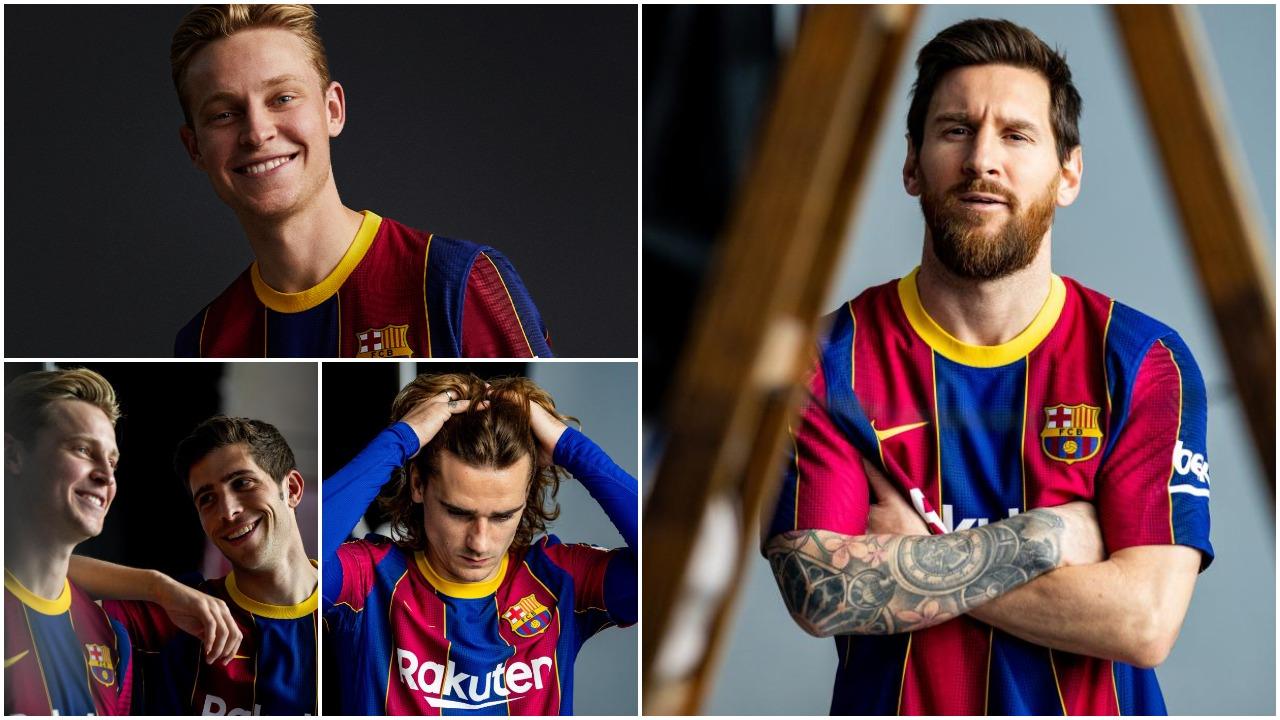 """FOTO/ Nike me dizajn fantastik, fanella e re e Barcelonës është """"perlë"""""""