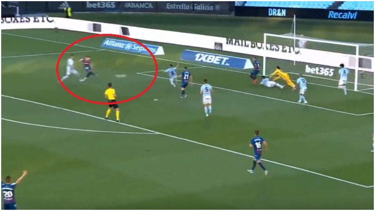 VIDEO/ Enis Bardhi i papërmbajtshëm, gjen golin e radhës në La Liga