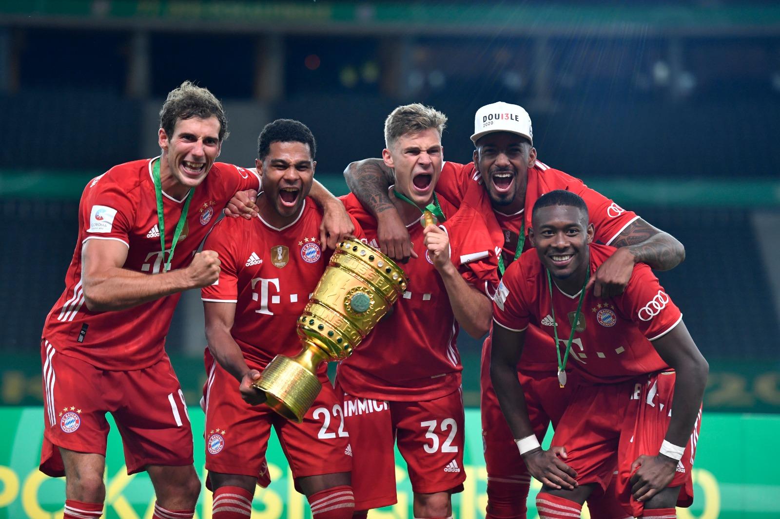 Trofetë një gjë normale për Bayern, ngre dhe Kupën e Gjermanisë!