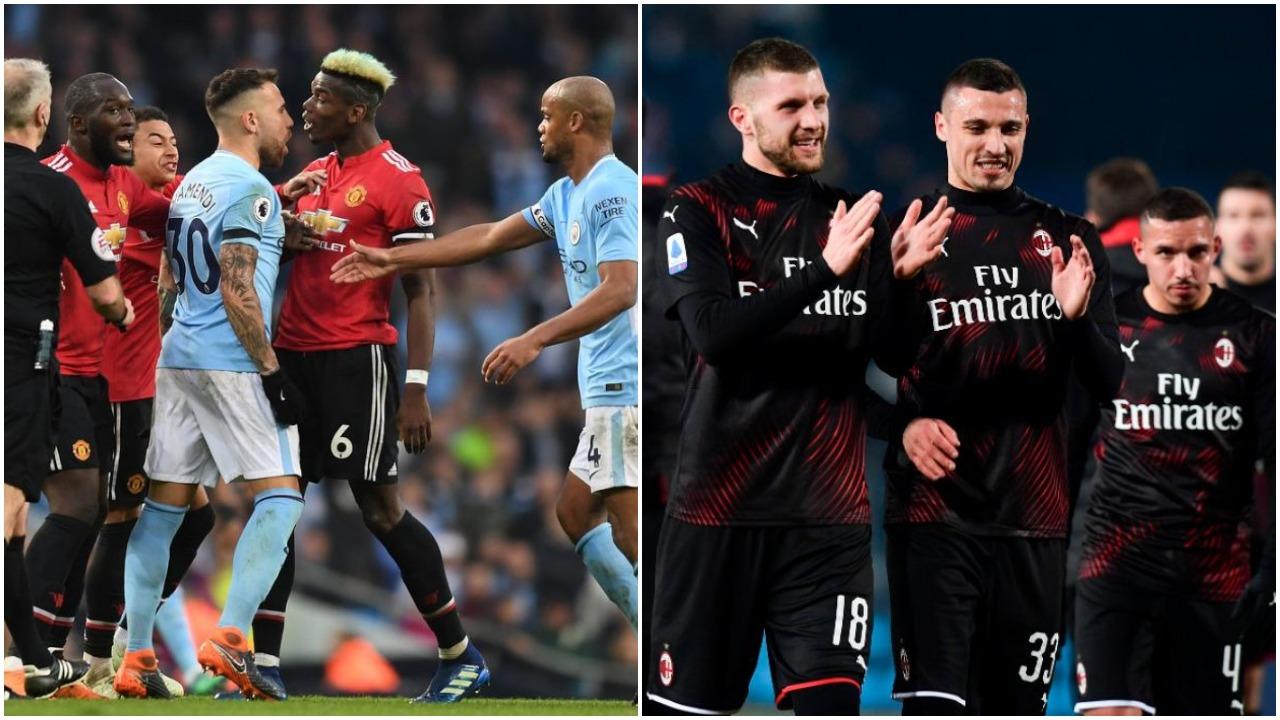 Dy klubet e Manchesterit përplasen në merkato, objektivi një milanist